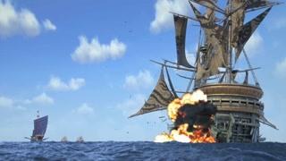 四海鲸骑 白虎开炮 摩伽罗号被轰