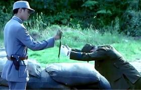 雪豹坚强岁月-46:日军举刺刀向张若昀投降