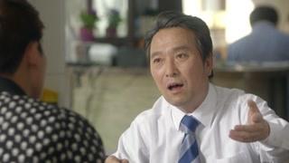 郑敬淏安锡焕一起吃饭 就像是父子一样