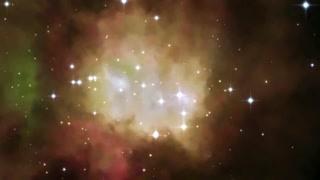 宇宙起源一场猛烈的爆炸?   啊蹦瞎卡拉卡