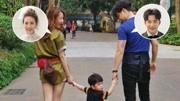 李茂晒照想念老婆儿子 一家三口手牵手画面温馨幸福