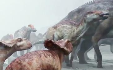 《与恐龙同行》特辑 不可思议世界恐龙活灵活现