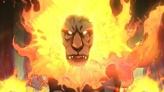 火焰魔狮逼退五人开黑小队