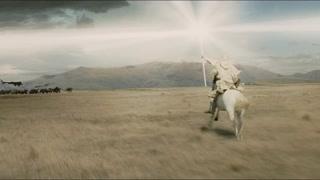 白袍巫师一己之力击退敌军 果然正义是不败的