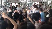 【广东】男子乘公交骚扰女乘客叫嚣:摸你是你的幸福