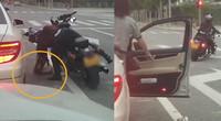 【北京】女子乘车乱丢垃圾 霸气机车小姐姐扔回车内