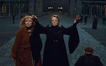 《哈利·波特与死亡圣器(下)》片段 霍格沃茨防御战