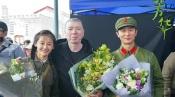 《芳华》在京首映 冯小刚携众主创向青春致敬