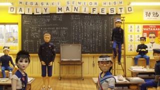外籍同学表达自己的观点认为市长图谋不轨 却遭到日本学生反对