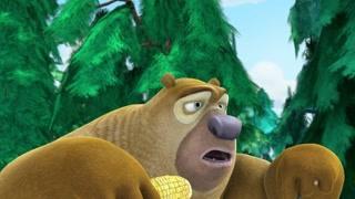 熊二边吃边唱 狗熊岭的植树节又来了