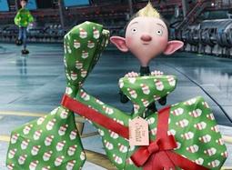 《亚瑟·圣诞》中文片段 精灵飞车包礼物小露绝招