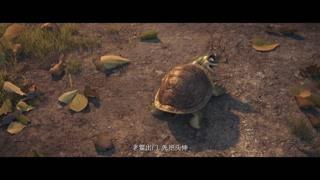 老鳖出门先把头伸!还以为是乌龟呢
