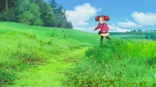 玛丽与魔女之花:玛丽追逐猫咪来到森林  神秘夜间飞行花朵被发现