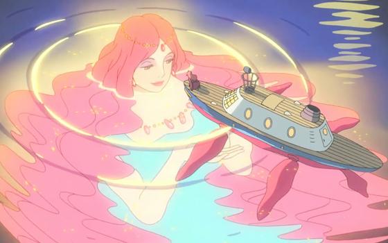 悬崖上的金鱼公主