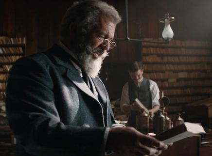 《教授与疯子》双男主预告 吉布森、西恩·潘飙戏引期待