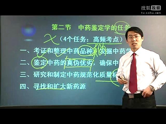 朱鹏飞文都2014执业中药师中药鉴定学