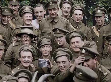 《他们已不再变老》定档11月11日 《指环王》名导真实重现世界大战