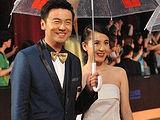 第16届上海国际电影节闭幕式红毯秀:《记忆碎片》剧组亮相