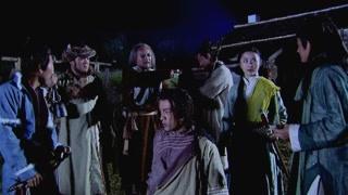 《射雕英雄传胡歌版》丘处机让弟子来拜访江南七怪