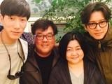 张亮抵韩客串《Dr.异乡人》 获朴海镇热情招待