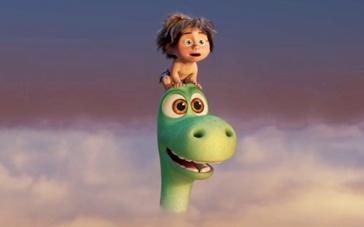 《恐龙当家》精彩片段 小恐龙登高山顶直穿云霄