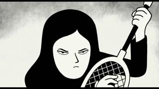 伊朗小女孩玛姬不受封建约束在家里激情摇滚