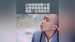 小和尚刚捡到两个凤凰蛋,还没孵化完就被师兄给扔了#王丽坤 #古装 #热门