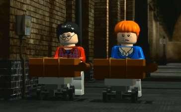 《哈利·波特与密室》片段 乐高版