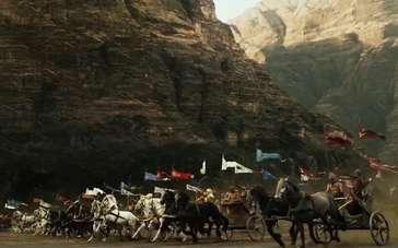 《法老与众神》精彩片段 法老率大军战场扫荡敌阵