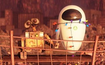 《机器人总动员》经典片段 瓦力拼尽全力唤醒爱人