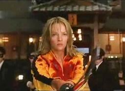 《杀死比尔》片段 新娘杀手愤怒复仇上演百人斩