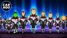 复仇者联盟4 美式卡通风格的结局