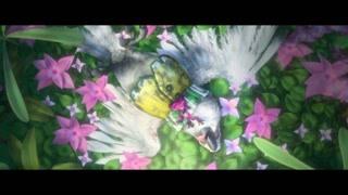 毒蛙跟着死掉的鹦鹉奈杰尔一起殉情了
