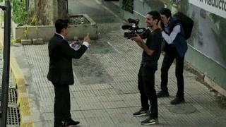 阿根廷国家电视台的华人主持人