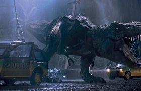 【侏罗纪公园】看点 雨天森林 恐龙秒吞如厕人