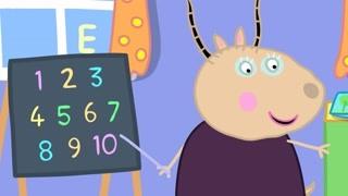 幼儿园的数字教学 佩德罗数数这么厉害吗
