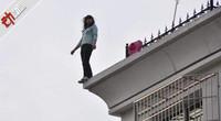 网络女主播直播跳楼 民警苦劝9小时未果 因体力不支从顶楼坠下