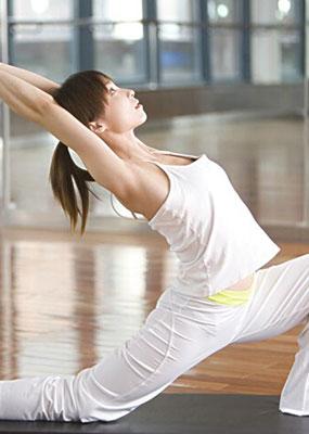 纤腰瘦腰瑜伽教程