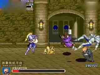 惊心动魄的《圆桌骑士》加强版区域boss战PHANTOM