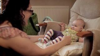 人体奥秘:婴儿的缓慢生长过程 菲比简直太萌啦