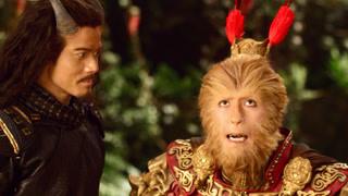 猴王被擒,幸得牛魔王相救