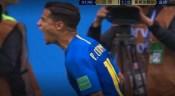 补时两球:巴西2-0哥斯达黎加