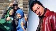 马景涛晒与两儿子合照 父子三人登长城逛天安门超温馨