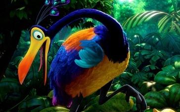 《飞屋环游记》特辑 未知大陆的怪鸟