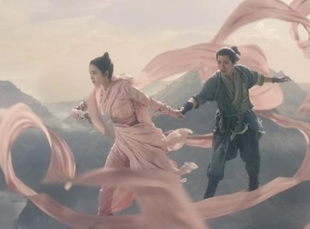 """《诛仙》角色特辑 唐艺昕挑战""""花式""""威亚"""