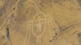 断壁残垣惊现外星符号 考古学者发现贺兰古老文明