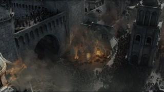 兽人攻入城内 开始肆意杀戮