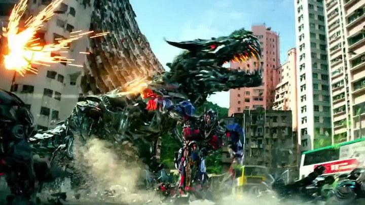变形金刚4:绝迹重生 花絮1:机器恐龙特效制作