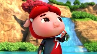 猪猪侠之竞球小英雄 第4季 起源之地 精华版