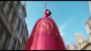斯嘉丽变身火箭
